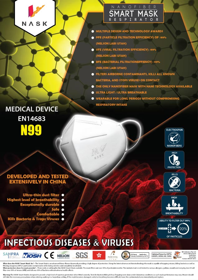 NASK-SMART-MASK-INFECTIOUS DISEASES SPECIALIST